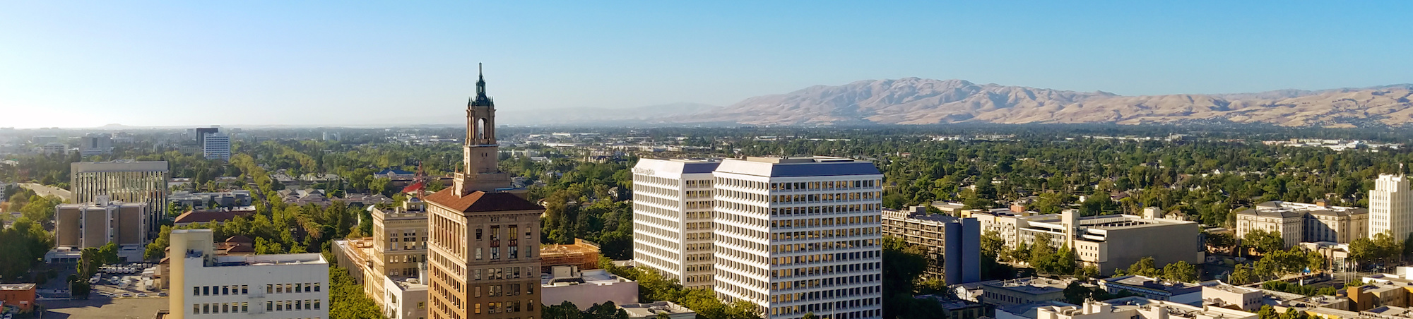 A view of the hills from San Jose